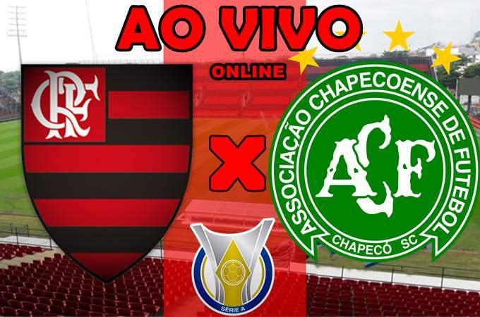 Assistir o jogo do Flamengo x Chapecoense ao vivo online. Foto/Montagem