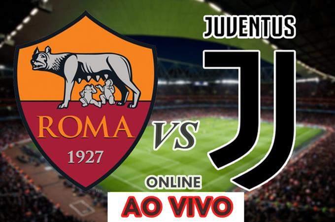Assistir Roma e Juventus ao vivo online. Foto/Montagem