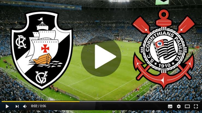 Vasco x Corinthians ao vivo: como assistir online grátis?