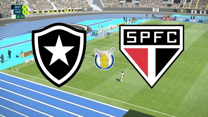 Botafogo x São Paulo ao vivo: como assistir online grátis jogo do Brasileirão