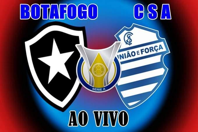 Botafogo vs CSA ao vivo online. Foto/Divulgação