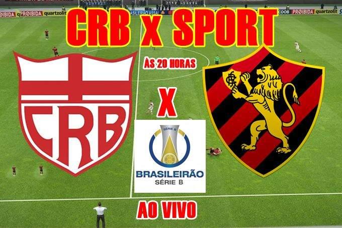 Jogo do CRB e Sport ao vivo e online nesta segunda, 07, partida acontece às 20h (horário de Brasília),no estádio Rei Pelé, em Maceió, AL.
