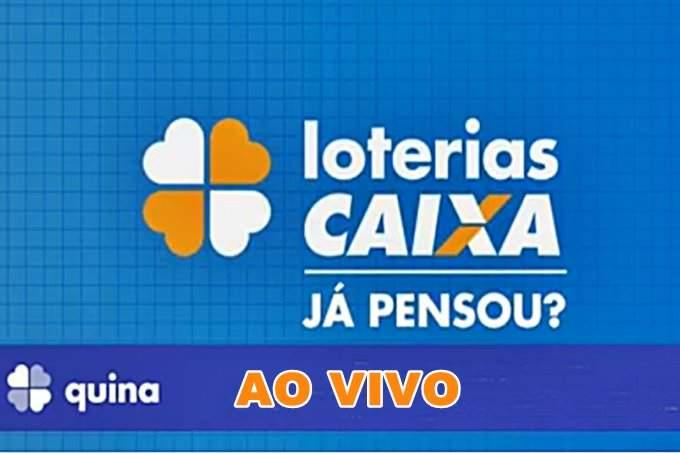 Assista o Sorteio da Quina ao vivo online concurso 5125. Foto/Divulgação