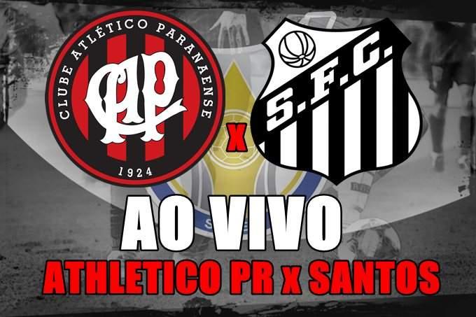 Veja onde assistir ao jogo do Athletico Paranaense x Santos ao vivo na Tv e online. Foto: Divulgação