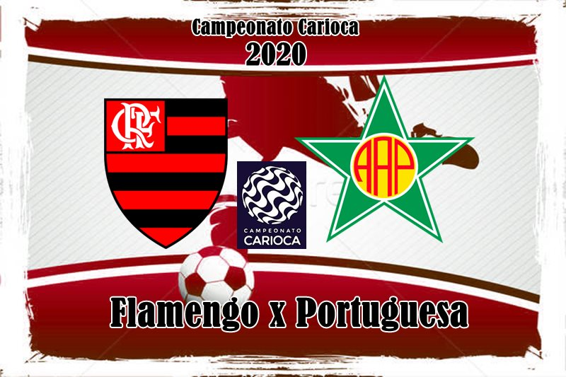 Flamengo e Portuguesa-RJ jogam neste sábado, 14 de março (14), às 18 horas, no Maracanã, no Rio de Janeiro. Foto/Divulgação