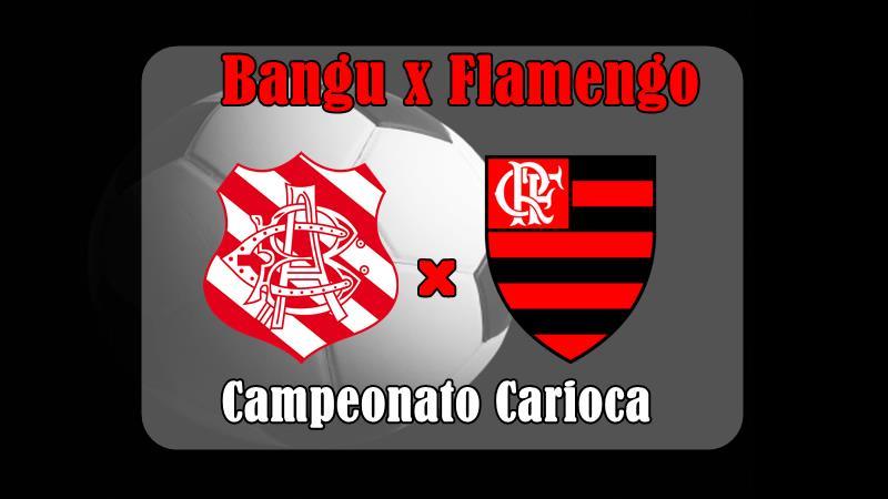 Campeonato Carioca Bangu x Flamengo ao vivo. Foto/Agora na Mídia