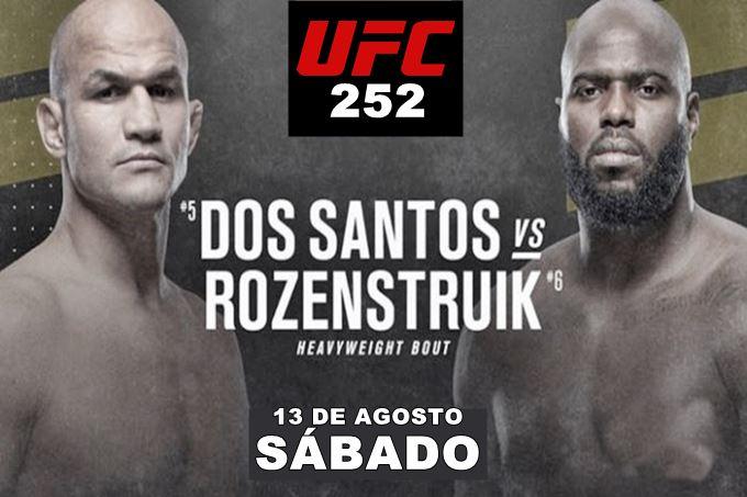UFC 252 las Vegas: Junior Cigano x Jairzinho ao vivo online no UFC 252 neste sábado.