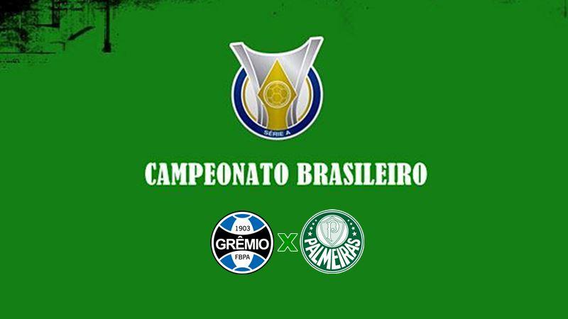 Futebol Brasileirão Grêmio x Palmeiras ao vivo. Foto - Instagram