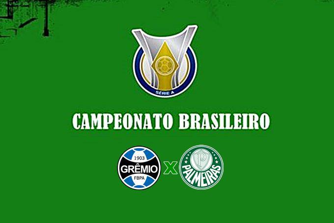 Futebol Brasileirão ao vivo Grêmio x Palmeiras neste domingo. Foto - Instagram