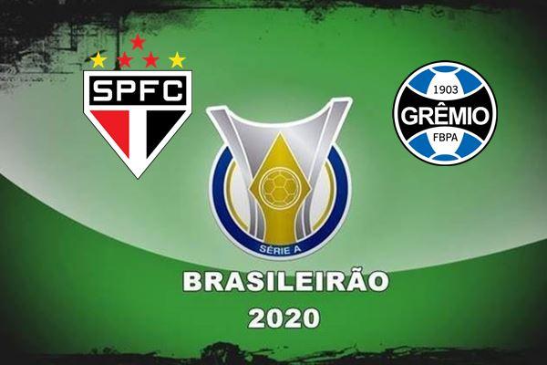Veja onde assistir ao jogo pelo Campeonato Brasileiro São Paulo x Grêmio ao vivo neste sábado, às 21 horas.