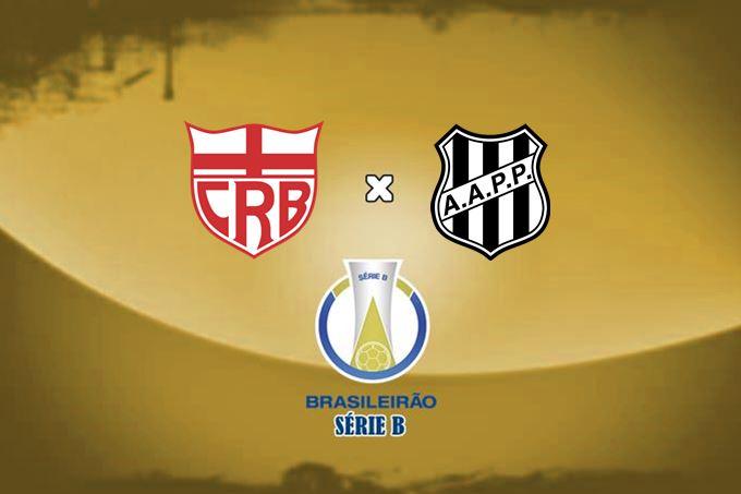 CRB e Ponte Preta se enfrentam pela 18ª rodada do Campeonato Brasileiro Série B neste sábado, às 18 horas.