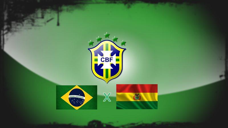 Jogo da seleção Brasil x Bolívia ao vivo. Foto/Divulgação
