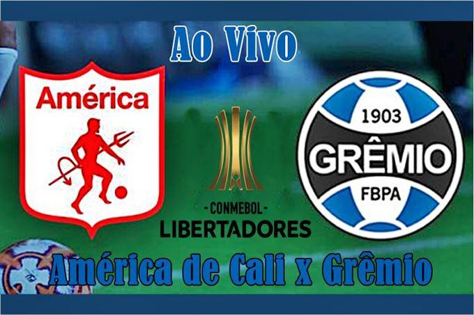 Onde assistir America de Cali vs Grêmio ao Vivo online pela Libertadores. Foto/Divulgação