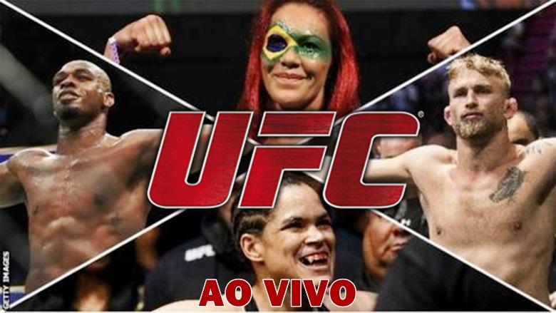 Assistir UFC ao vivo neste sábado. Foto/Montagem