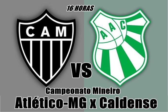 Jogo do Atlético-MG x Caldense online. Foto: divulgação