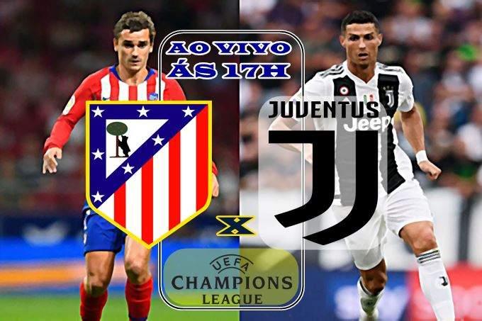 Onde assistir Atletico Madrid vs Juventus ao vivo. Foto/Reprodução