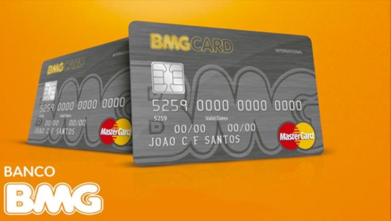 Banco Lança Cartão de Crédito BMG Internacional sem Consulta ao SERASA SPC. Imagem/Divulgação