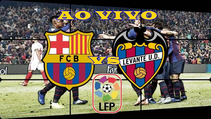Onde assistir Barcelona vs Levante ao vivo. Foto/Montagem