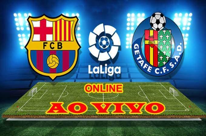 Jogo do Barcelona x Getafe ao vivo online. Foto/Montagem