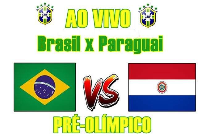 Seleção do Brasil x Paraguai ao vivo online jogo pelo Pré-Olímpico. Foto/Divulgação