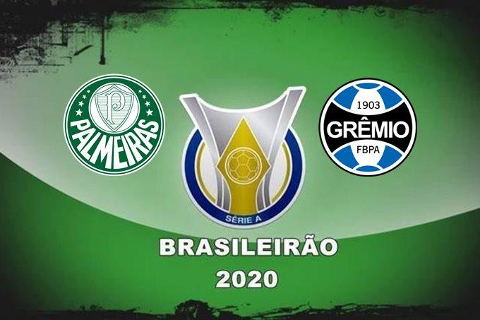 Brasileirão 2020 onde assistir ao vivo Palmeiras x Grêmio nesta sexta-feira. Imagem - Divulgação