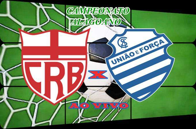 Veja onde ver o jogo do Campeonato Alagoano: CRB x CSA ao vivo. Foto/Montagem