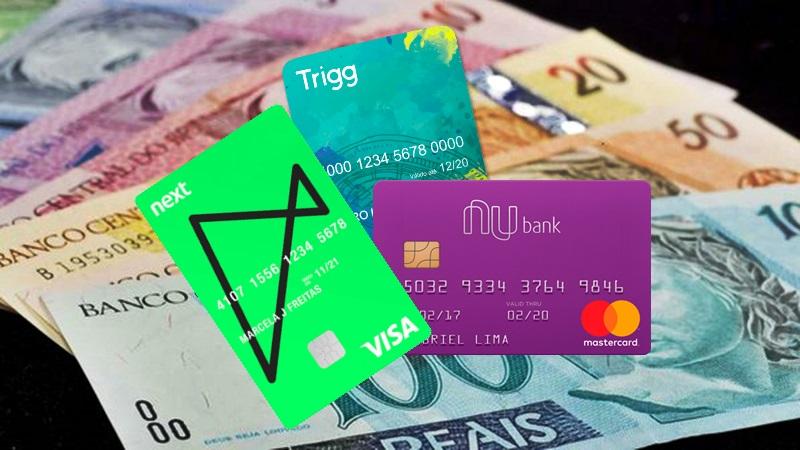 Cartão de crédito 5 opções pela internet sem renda e sem anuidade. Foto/Reprodução