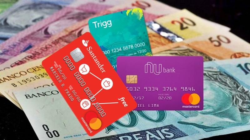 Cartão de crédito sem anuidade, 3 opções pela internet sem renda. Imagem/Montagem/Ilustrativa