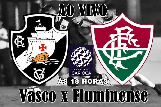 Vasco e Fluminense fazem o clássico pelo Campeonato Carioca neste domingo (14), às 18 horas, no Estádio do Maracanã, no Rio de Janeiro (RJ). Onde assistir ao jogo Vasco x Fluminense ao vivo online pela Taça Rio. Foto/Ilustração
