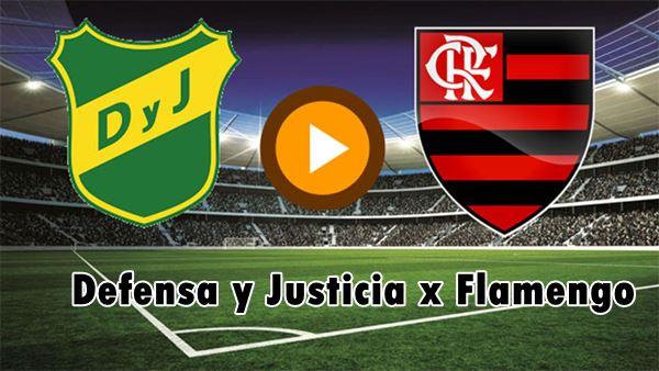 Defensa y Justicia x Flamengo ao vivo online