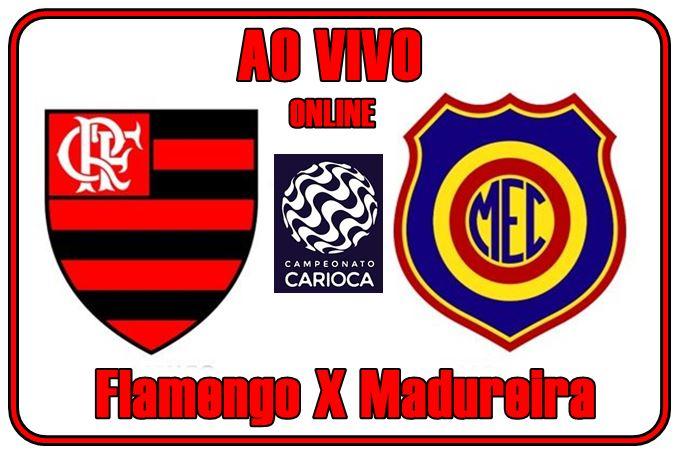 Jogo Flamengo X Madureira ao vivo online. Foto: Divulgação