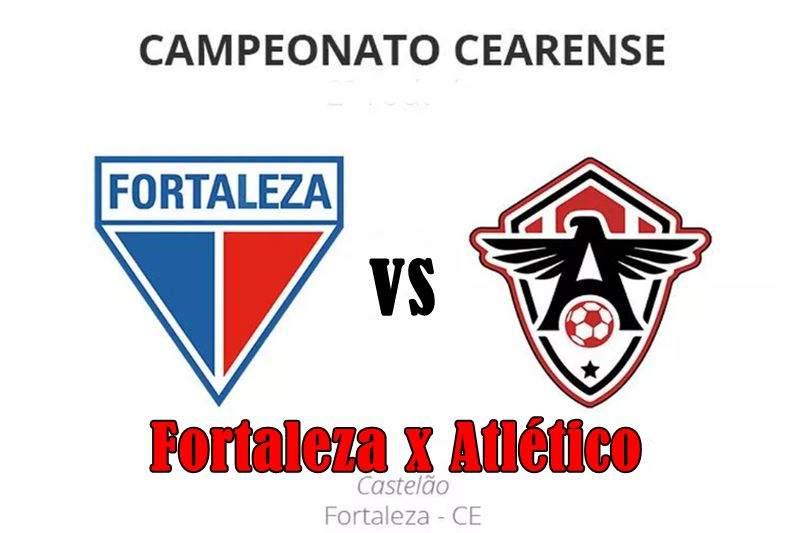 Fortaleza x Atlético-CE ao vivo online. Foto: divulgação