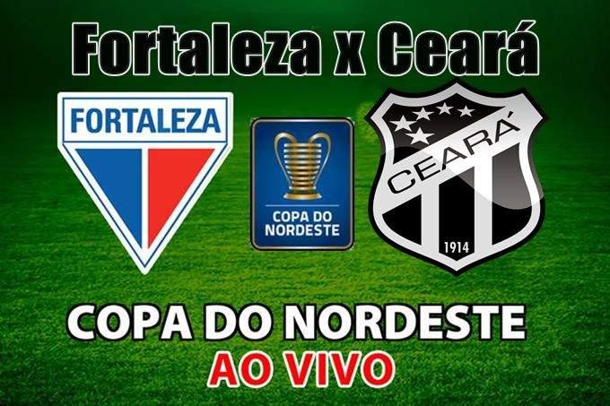 Jogo do Fortaleza x Ceará ao vivo pela Copa do Nordeste 2020. Foto: divulgação