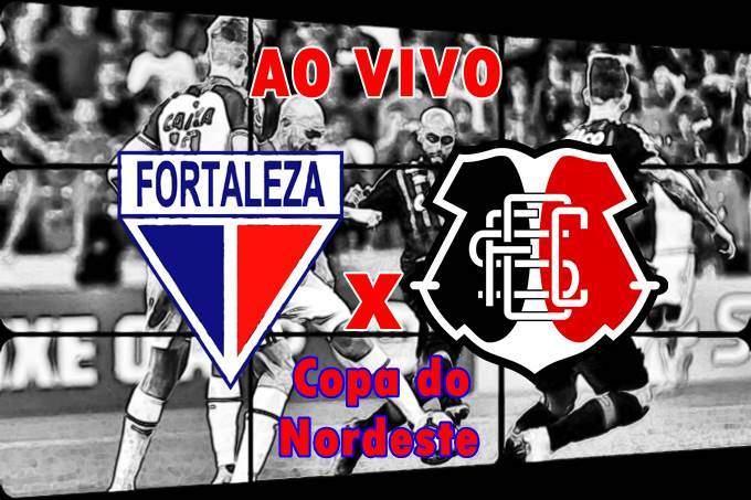 Onde assistir Fortaleza x Santa Cruz ao vivo online. Foto/Montagem
