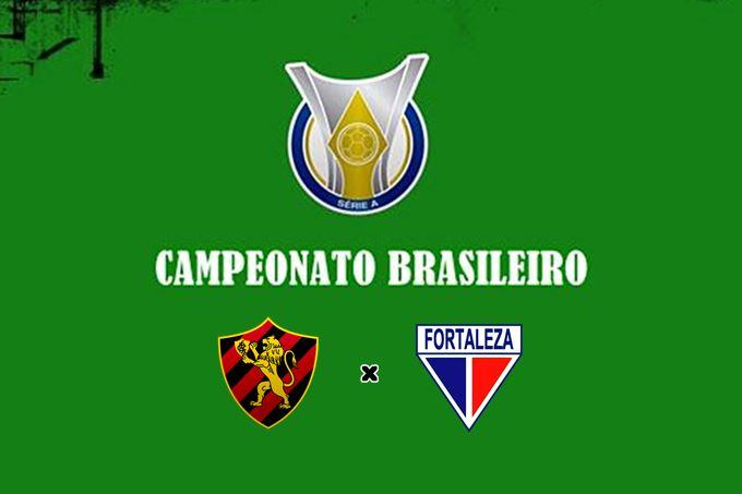 Fortaleza x Sport Recife ao vivo jogo do Brasileirão. Foto - Divulgação