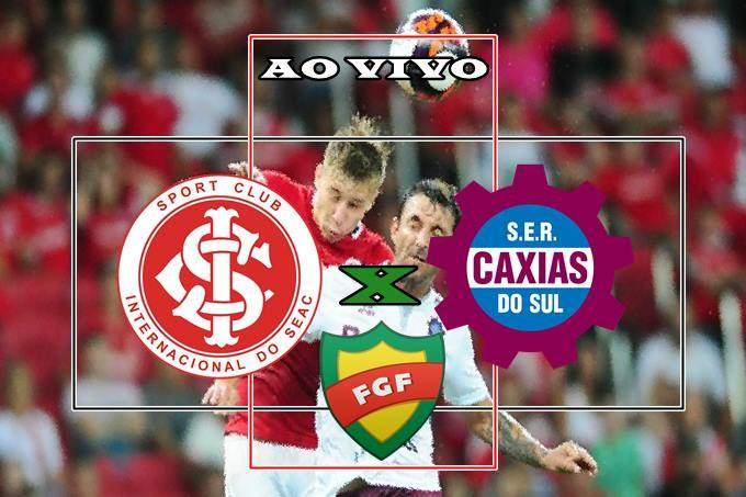 Veja onde assistir o jogo Internacional x Caxias AO VIVO. Foto/Montagem