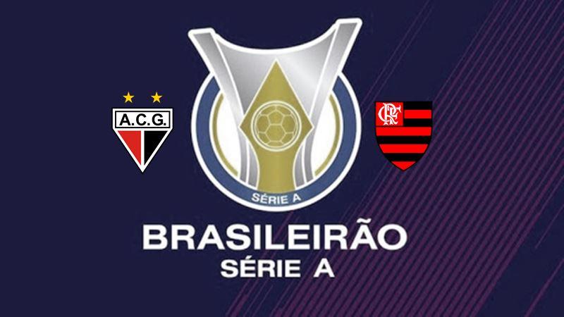 Jogo Campeonato Brasileiro Atlético-GO x Flamengo ao vivo. Foto/Divulgação