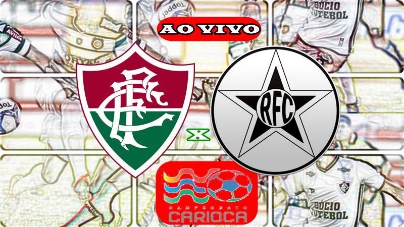 Jogo Fluminense x Resende ao vivo online. Foto/Montagem