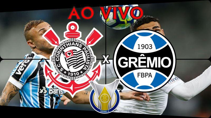 Onde assistir o Jogo do Corinthians x Grêmio ao vivo. Foto/Montagem