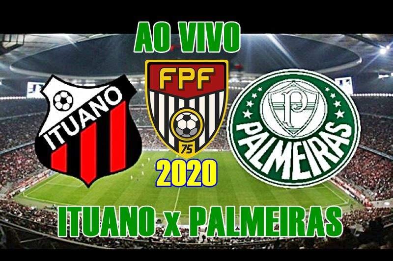 Ituano x Palmeiras se enfrentam nesta quarta, pelo Campeonato Paulista 2020. Foto/Divulgação