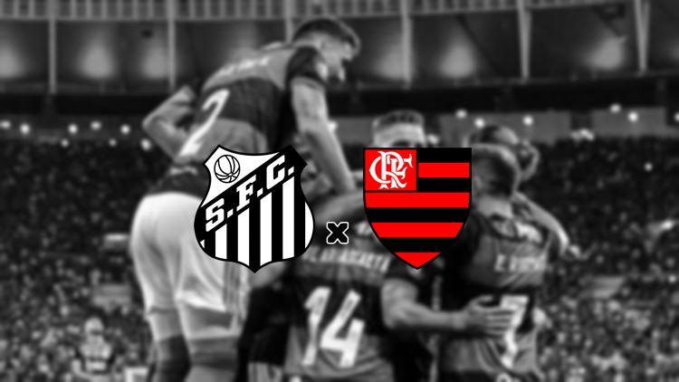 Onde assistir ao Jogo do Santos x Flamengo ao vivo. Foto - Divulgação