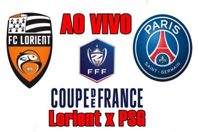 Lorient x PSG ao vivo online pela Copa da França. Foto/Divulgação