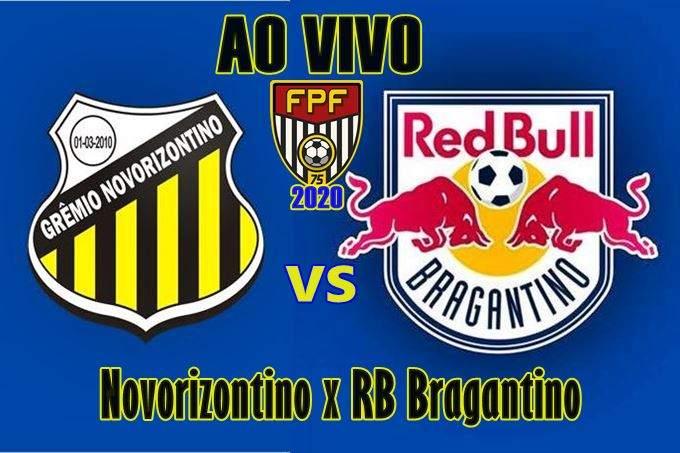 Novorizontino x Bragantino online, pelo Campeonato Paulista 2020. Foto: Divulgação