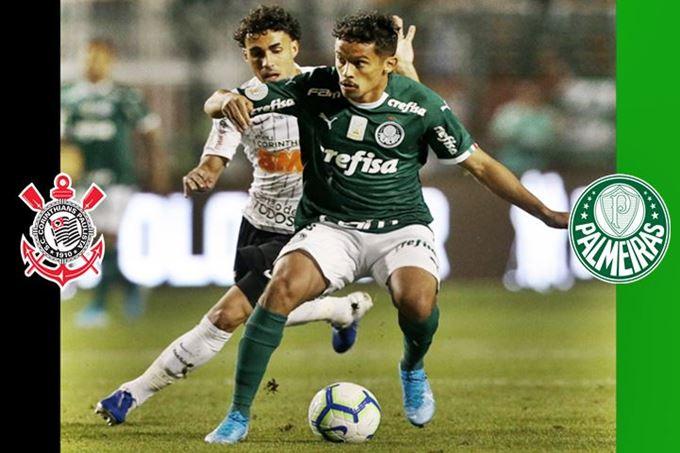 Onde assistir Corinthians x Palmeiras ao vivo online pela final do Paulistão. Foto/Montagem