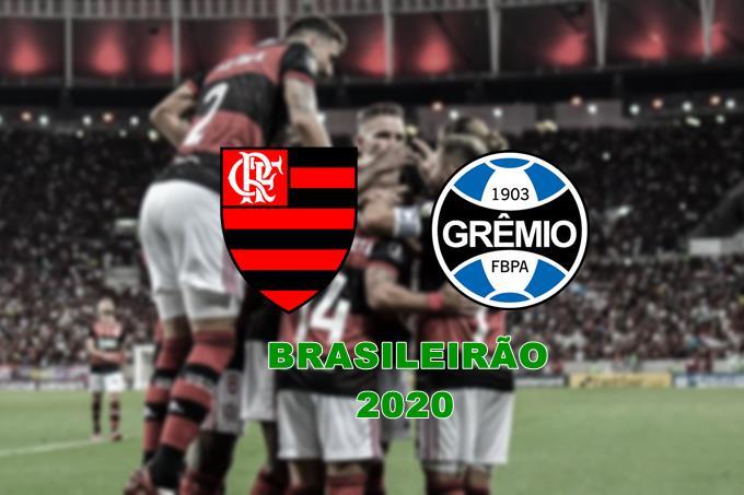 Confira onde assistir ao vivo Brasileirão 2020 Flamengo x Grêmio ao vivo nesta quarta-feira, 19 de agosto, às 19:15 horas.