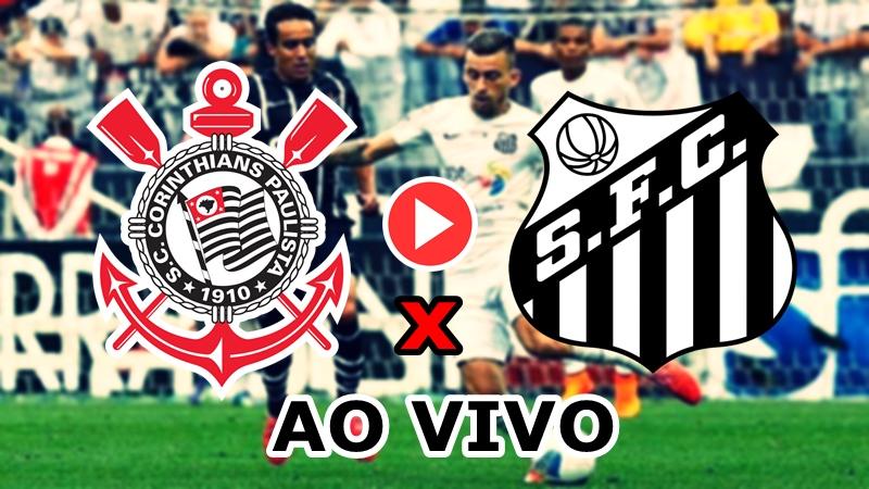 Onde assistir amistoso Corinthians x Santos ao vivo. foto/Montagem