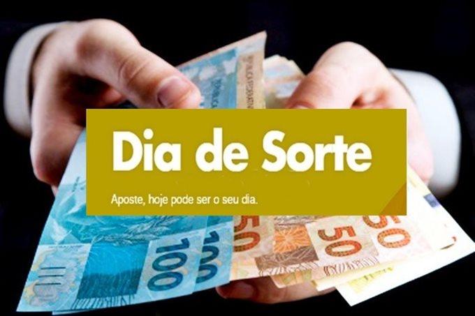 Confira o resultado do sorteio da Dia de Sorte desta quinta-feira, o concurso 303 vem com estimativa de prêmio R$ 200.000,00. Foto/Portal Brasil