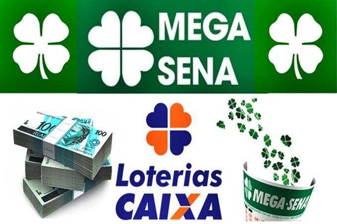 Resultado da Mega-Sena acumulada de hoje. Foto/Montagem/Agora na Mídia
