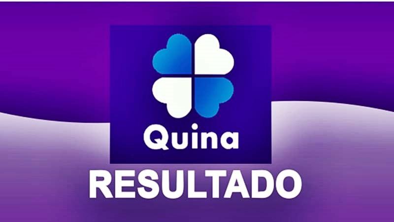 Resultado da Quina de hoje, números sorteados na quina. Foto/Montagem
