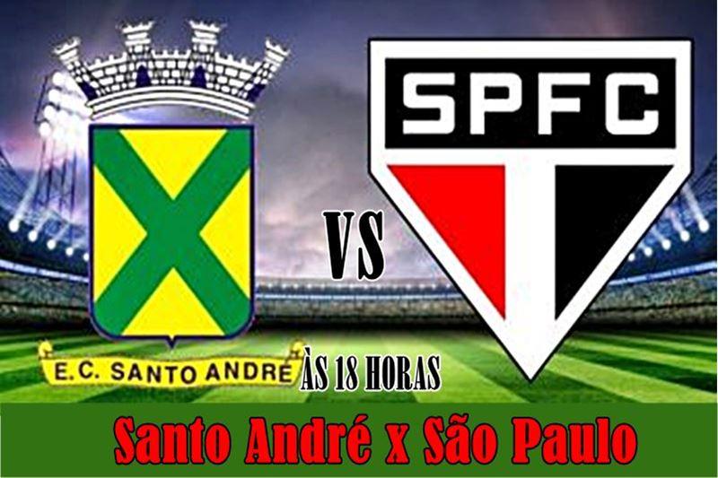 Onde assistir Santo André x São Paulo ao vivo. Foto: divulgação